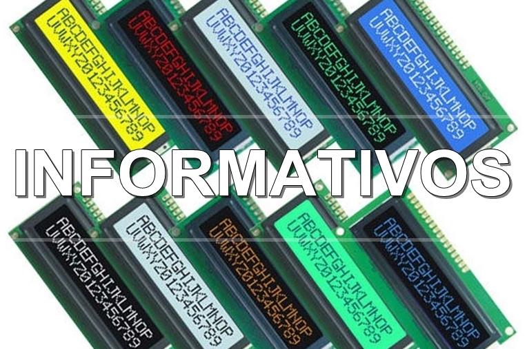 Informativo AGT - Opções de Cores - Display LCD