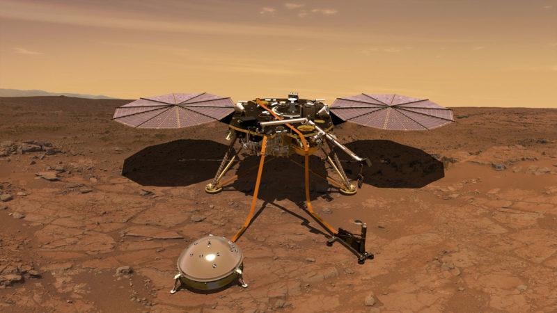 Missão InSight pousa com sucesso em Marte