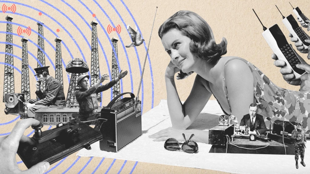 Como começou essa história de transmitir informações sem fio?