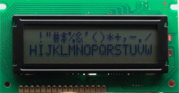 AGM-1602B-509 (3,3 V)