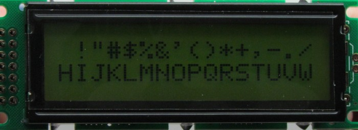 AGM-1602H-205
