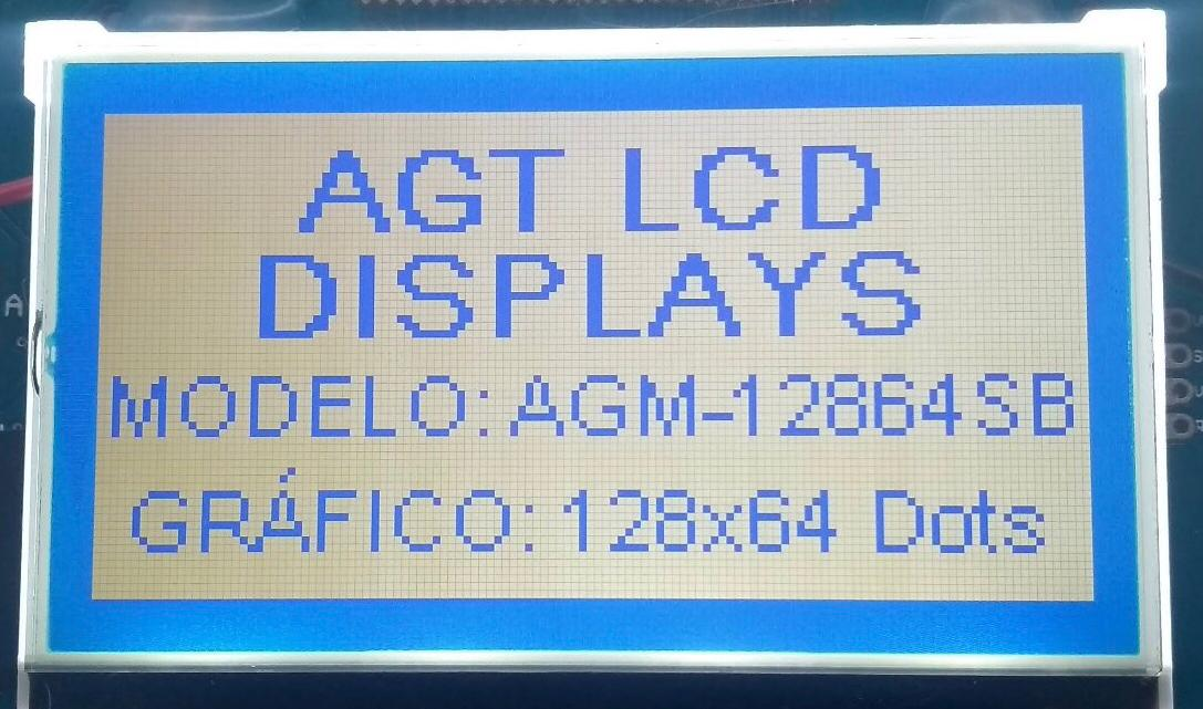 AGM 12864S-815