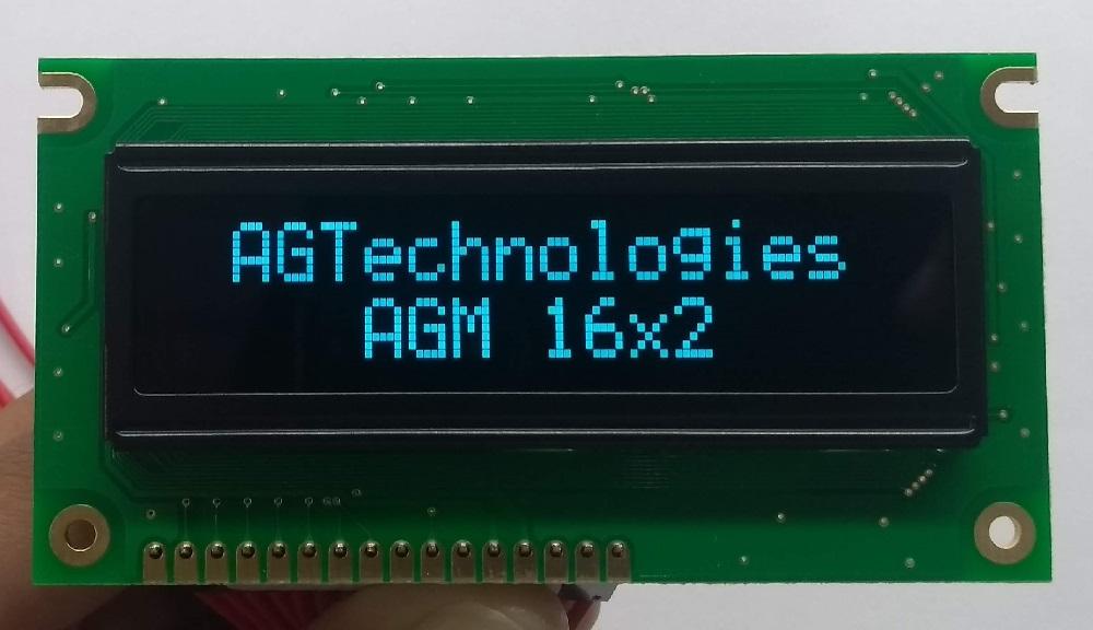 AGM 1602OW-801